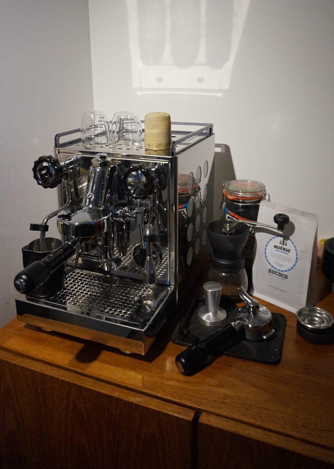 Green Light District - Afbeelding 7 - Espressoapparaat