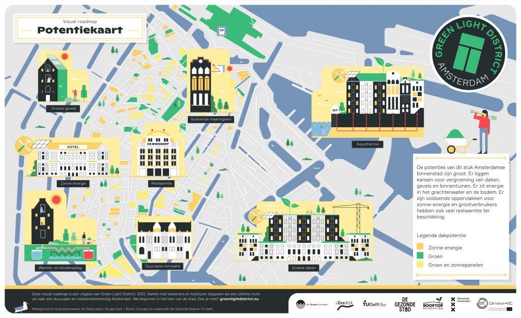 Green Light District - Visual Roadmap Green Light District - Potentiekaart