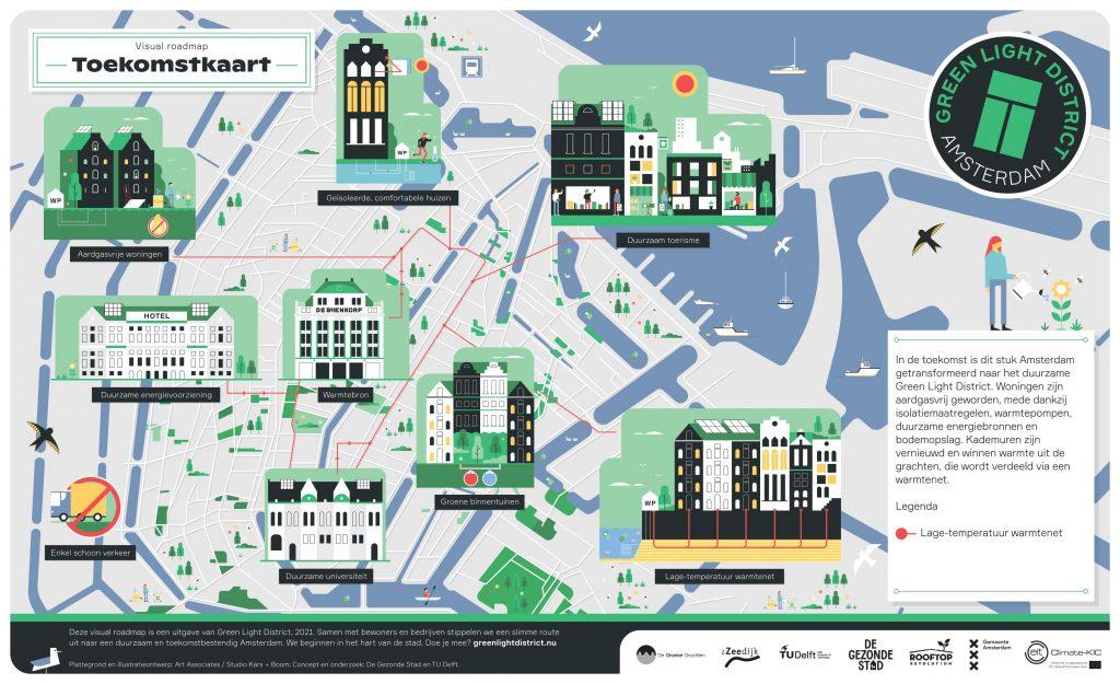 Green Light District - Visual Roadmap toekomstkaart