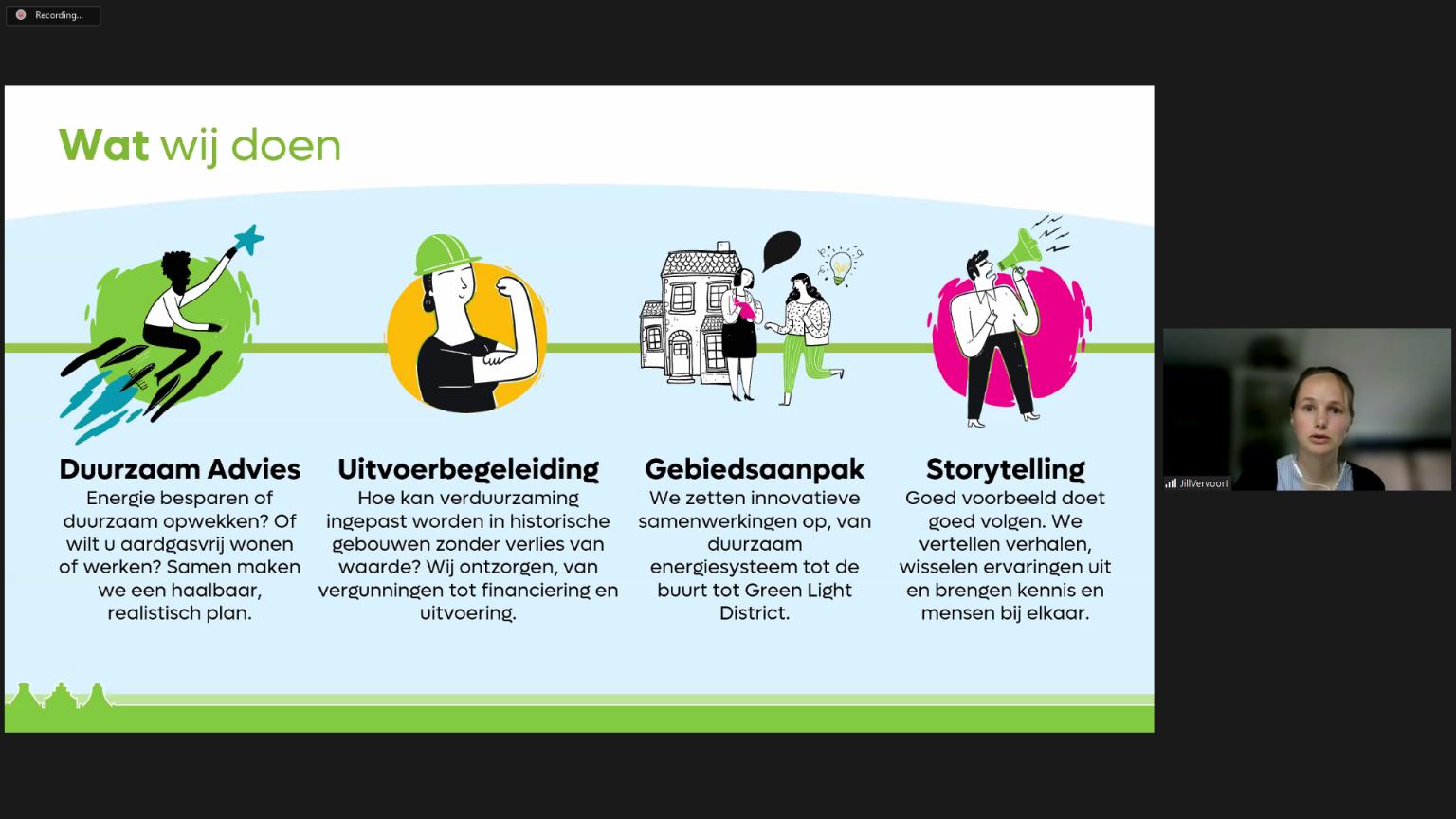 Green Light District - Thuiswerken, online webinar